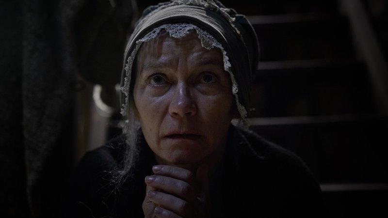 """Wie auch bei der """"Bader-Ann"""" (Komparsin) aus Veringenstadt, trifft die Hexenanklage meist Frauen und Männer die alt, arm und alleine sind. – Bild: ZDF und Peter Trinks."""