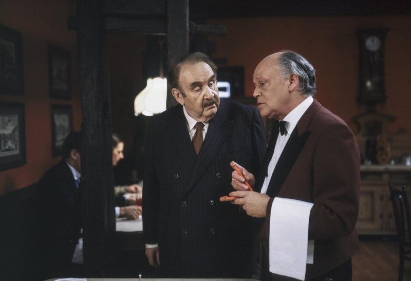Fritz Eckhardt, Rudi Schippel. – Bild: ORF III