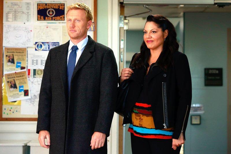 Kevin McKidd (Dr. Owen Hunt), Sara Ramirez (Dr. Callie Torres). – Bild: ORF eins