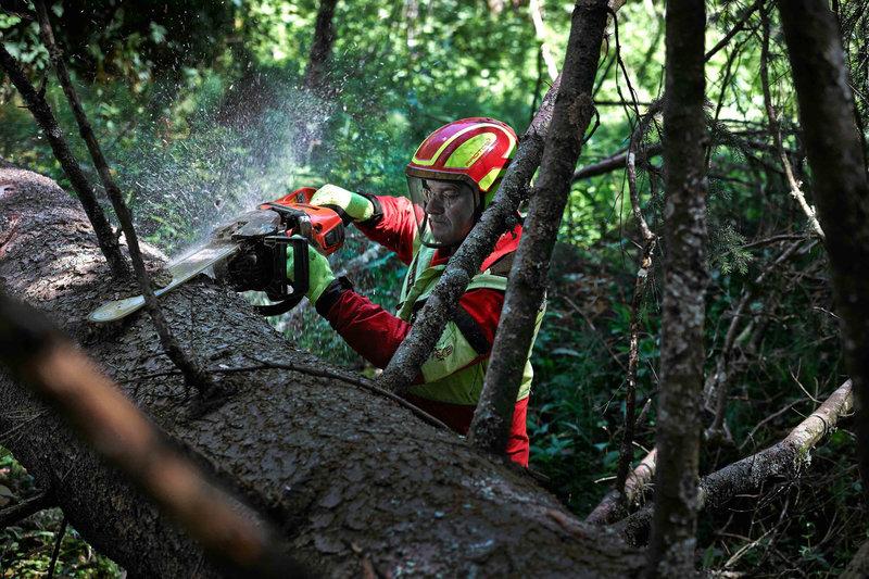 Händische Holzverarbeitung – Bild: ServusTV