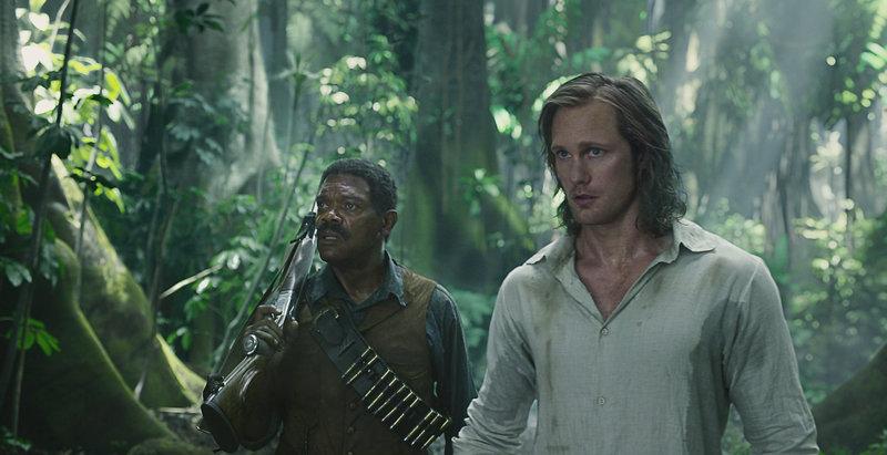 """""""Legend of Tarzan"""", John Clayton III, Lord von Greystoke, führt mit seiner Ehefrau Jane seit zehn Jahren ein begütertes Leben im viktorianischen London. Einst ist er als Tarzan unter wilden Tieren im afrikanischen Dschungel aufgewachsen. Als er von dem Amerikaner Williams über Gräueltaten des belgischen Königs Leopold im Kongo unterrichtet wird, kehrt er in seine Heimat zurück. Dort gerät er mit Jane in die Gefangenschaft von Captain Léon Rom. Der skrupellose Handlanger des Königs will Tarzan für wertvolle Diamanten verkaufen.Im Bild (v.li.): Samuel L. Jackson (George Washington Williams), Alexander Skarsgĺrd (Tarzan / John Clayton). SENDUNG: ORF eins - FR - 01.05.2020 - 20:15 UHR. - Veroeffentlichung fuer Pressezwecke honorarfrei ausschliesslich im Zusammenhang mit oben genannter Sendung oder Veranstaltung des ORF bei Urhebernennung. – Bild: Warner / © Warner Bros."""