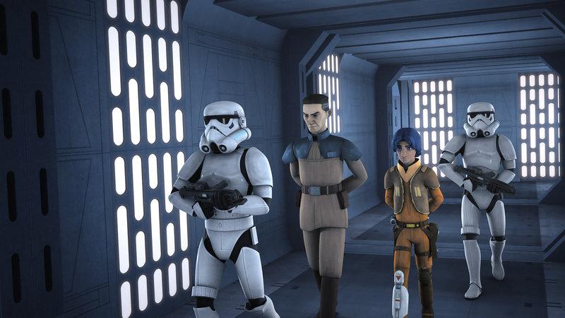 Undercover beim Feind (Staffel 2, Folge 9) – Bild: Walt Disney