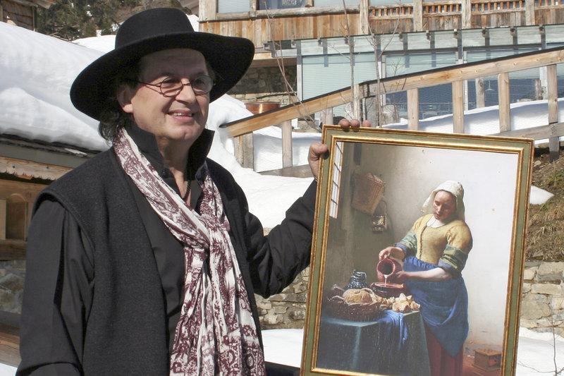 Marc Veyrat, Sternekoch aus Haute-Savoie, lädt in sein zauberhaftes Chalet in die Berge ein, um die verborgene Symbolik in Jan Vermeers ¿Dienstmagd mit Milchkrug¿ zu ergründen. – Bild: arte