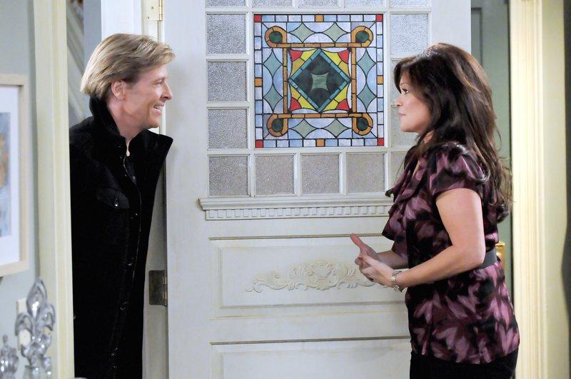 Jack Wagner (Dr. Aaron Everett), Valerie Bertinelli (Melanie Moretti). – Bild: One