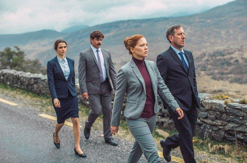 (v.l.n.r.) Rachel Weisz; Colin Farrell; Léa Seydoux; Michael Smiley – Bild: arte
