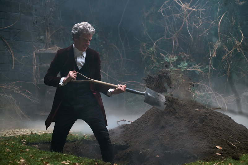 Picture shows: Peter Capaldi as the Doctor – Bild: Copyright BBC/BBC Worldwide 2015