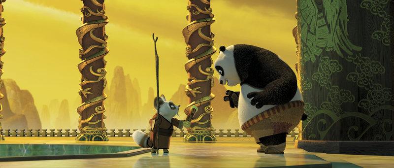 Meister Shifu, Panda Po. – Bild: ORF