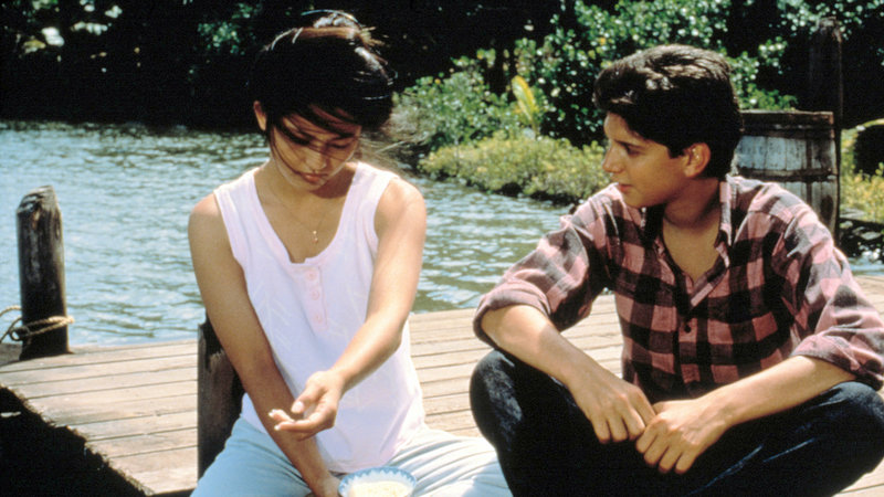 Daniel (Ralph Macchio) mit Kumiko (Tamlyn Tomita)Daniel (Ralph Macchio) mit Kumiko (Tamlyn Tomita) – Bild: RTL Zwei