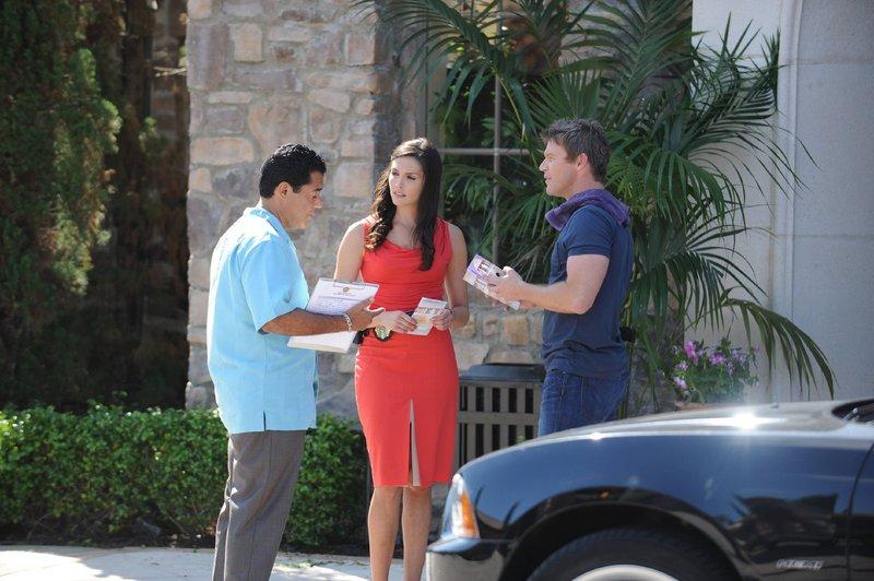 (v.l.): Carlos (Carlos Gímez), Jennifer (Taylor Cole) und Jim (Matt Passmore) – Bild: MG RTL D