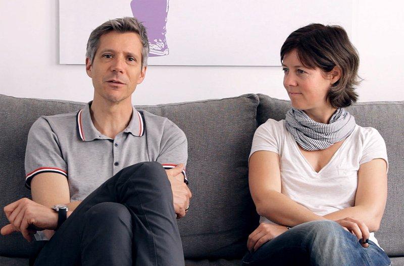 Interview Kathrin und Robert. – Bild: BR/SWR