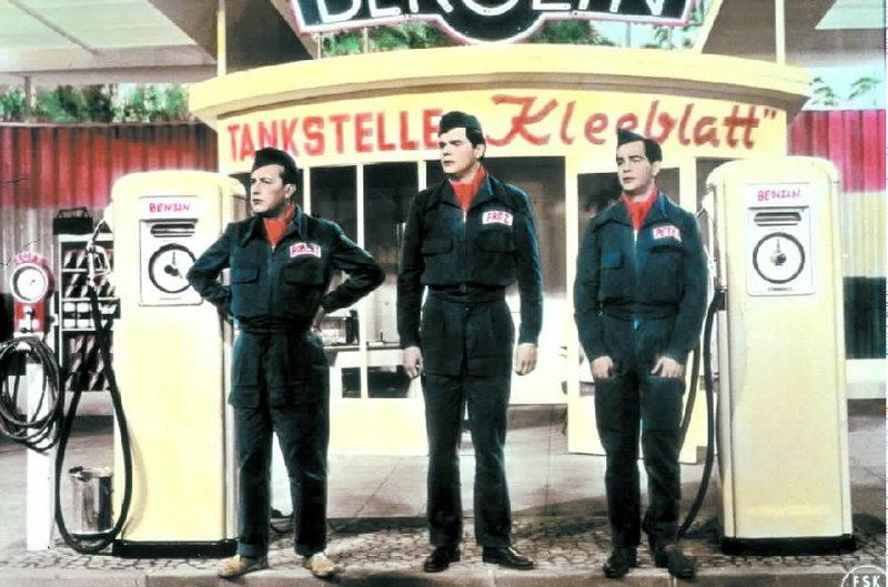 Die Drei von der Tankstelle – Bild: ORF