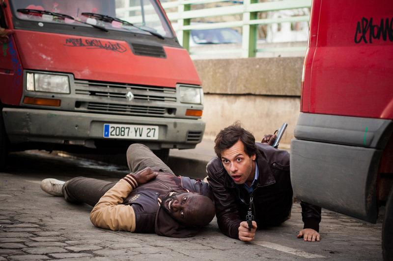 Omar Sy (Ousmane Diakhaté), Laurent Lafitte (François Monge). – Bild: ORF