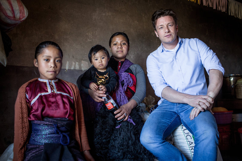 Jamie Oliver in Mexiko. – Bild: ORF