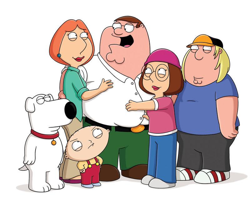 Family Guy Rollen