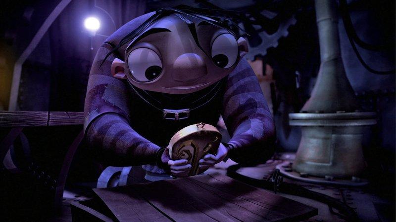 Igor möchte nicht mehr für andere buckeln, er will selbst ein großer Erfinder und Wissenschaftler werden. – Bild: Constantin Film Verleih GmbH