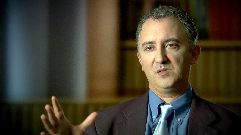 Prof. Dr. Nassir Ghaemi, Psychiater. – Bild: ZDFinfo