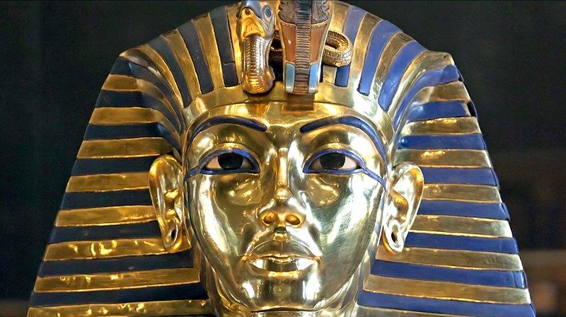 Tutanchamun Maske – Bild: phoenix/ZDF