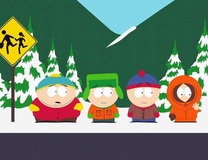 Cartman, Kyle, Stan et Kenny – Bild: South Park Digital Studios LLC / Comedy Partners