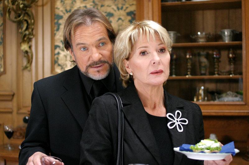 Christiane Hörbiger (Victoria), Götz George (Vincent). – Bild: ORF