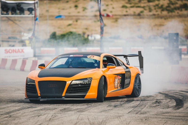 L''Audi R8 Drifter – Bild: National Geographic/Olivia Williams Lizenzbild frei