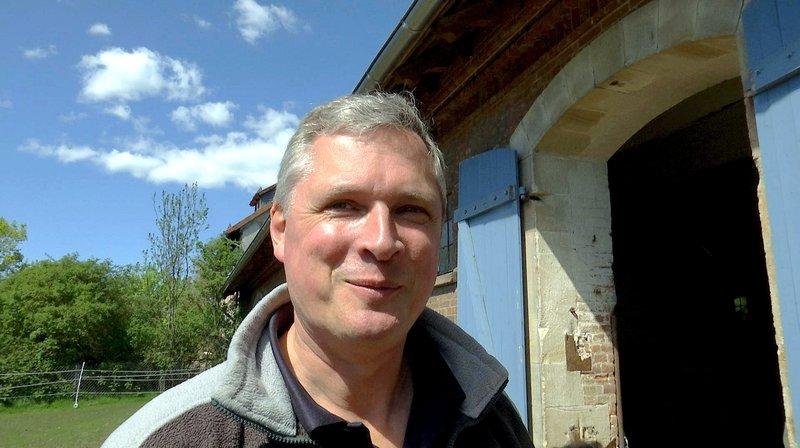 Tierarzt Christian Schultenkämper vom Tierpark Sababurg. – Bild: HR