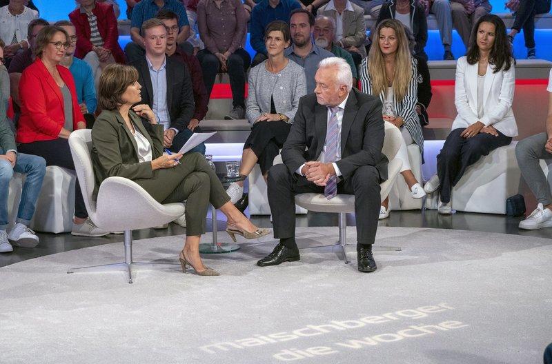 Zu Gast bei Sandra Maischberger: Wolfgang Kubicki, FDP (stellv. Bundesvorsitzender) – Bild: WDR/Max Kohr