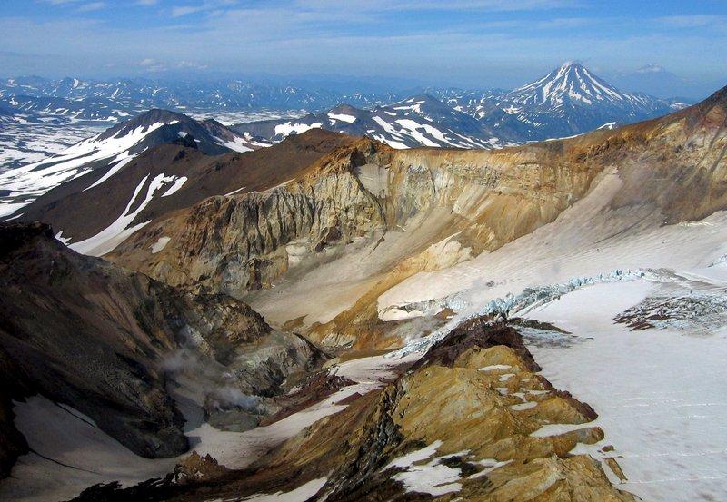 Gletschervulkan. – Bild: 3sat