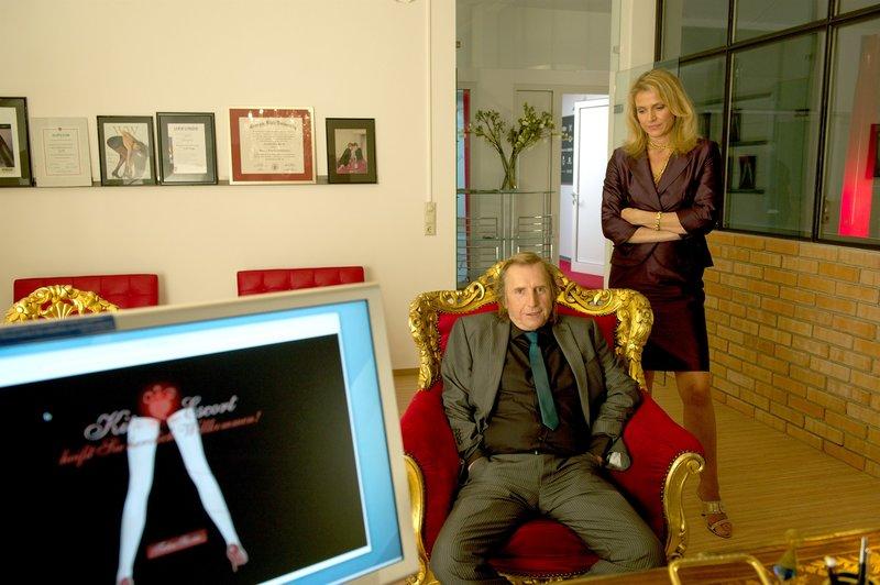 Martin Semmelrogge (Herbert Brunner), Ursula Gottwald (Ingrid Pfleger). – Bild: ORF III