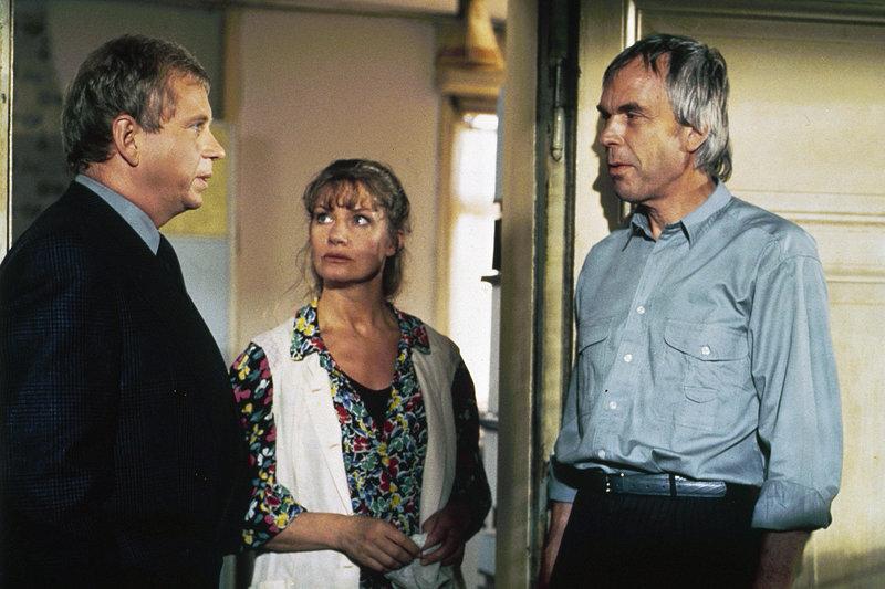 Rainer Hunold, Petra Fahrnländer, Hans-Dieter Jendreyko. – Bild: ZDF