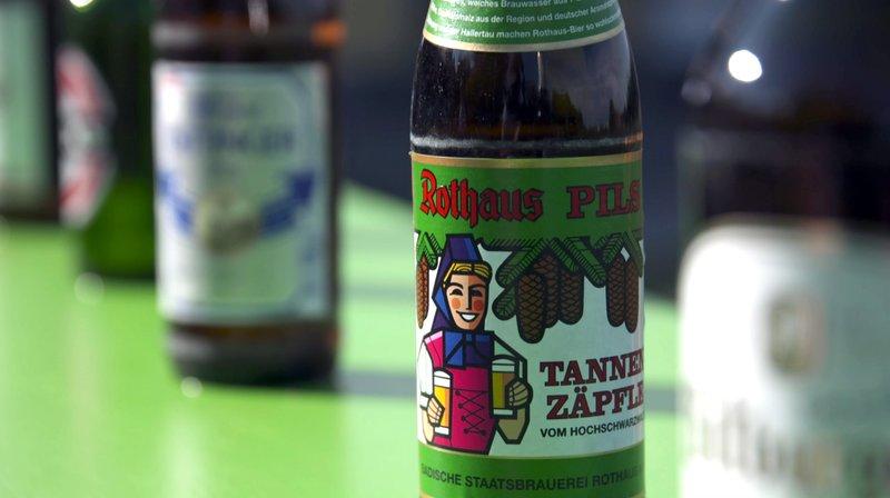 """Das """"Tannenzäpfle"""" ist der Klassiker unter den Bieren. Kann sich die badische Staatsbrauerei Rothaus auch gegen die ganz großen Marken behaupten? – Bild: SWR"""