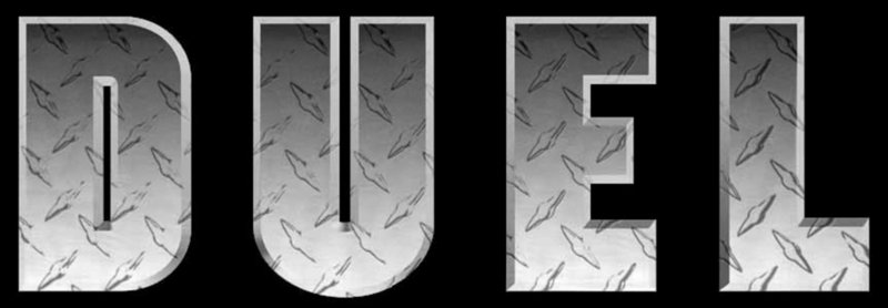 DUEL - Logo – Bild: 1971 Universal City Studios, Inc. All Rights Reserved. Lizenzbild frei