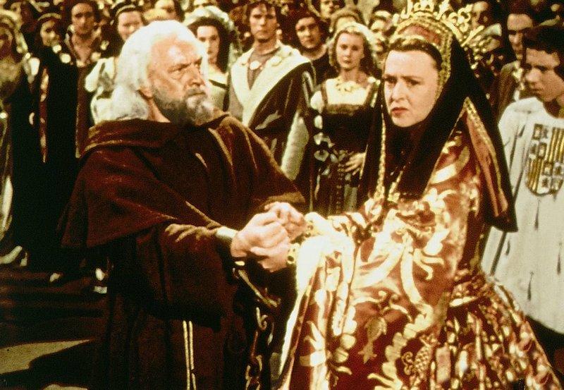 Columbus bittet seine Goennerin Isabell aum Hilfe. – Bild: arte