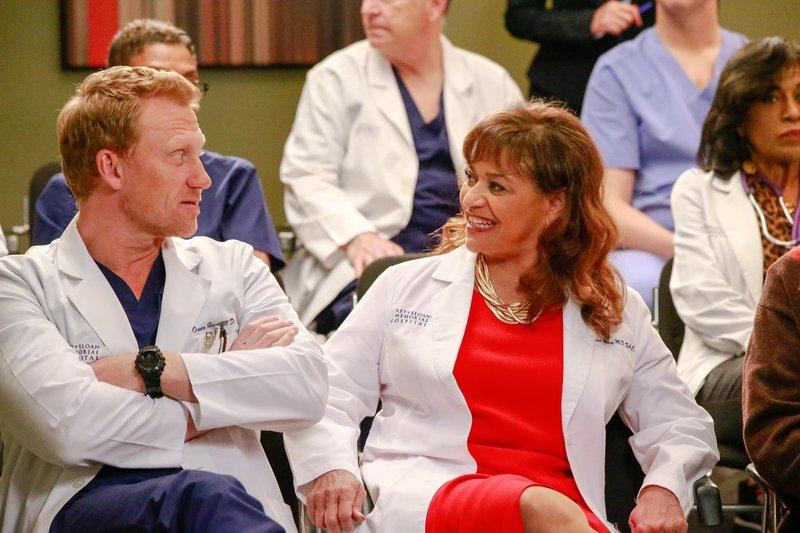Kevin McKidd (Dr. Owen Hunt), Debbie Allen (Dr. Catherine Avery). – Bild: ORF 1