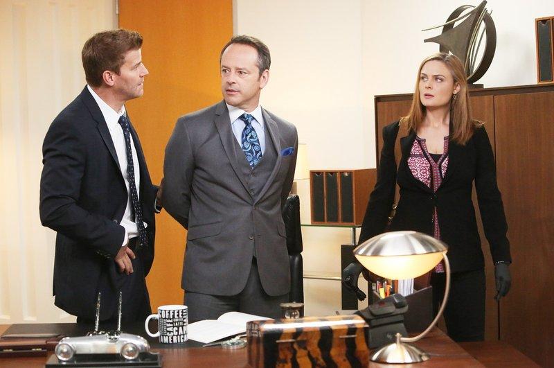 David Boreanaz, Gil Bellows, Emily Deschanel – Bild: M6