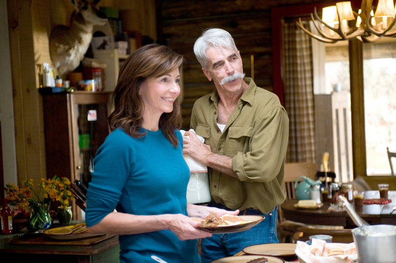 Mary Steenburgen (Emma Wheeler), Sam Elliott (Clay Wheeler). – Bild: ORF