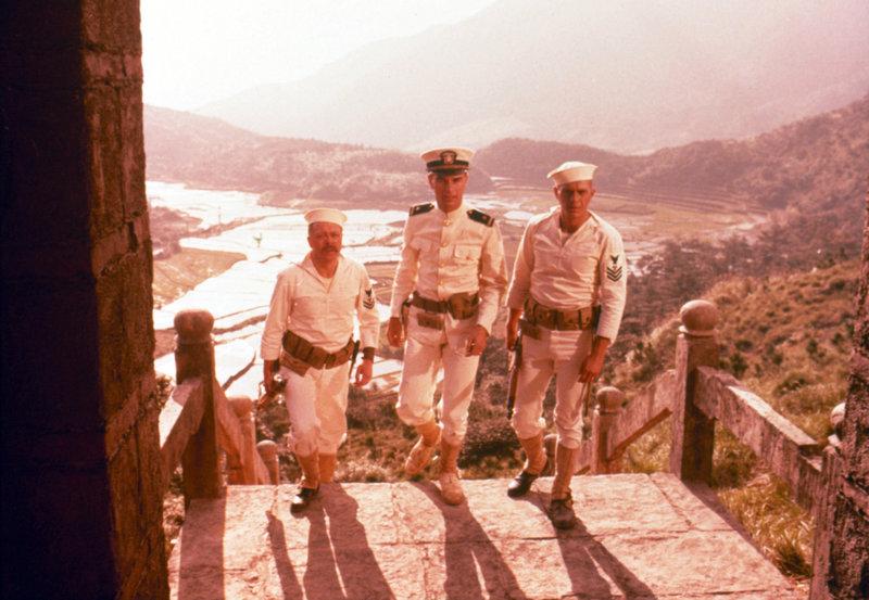 Kanonenboot am Yangtse-Kiang – Bild: 1966 Robert Wise Productions