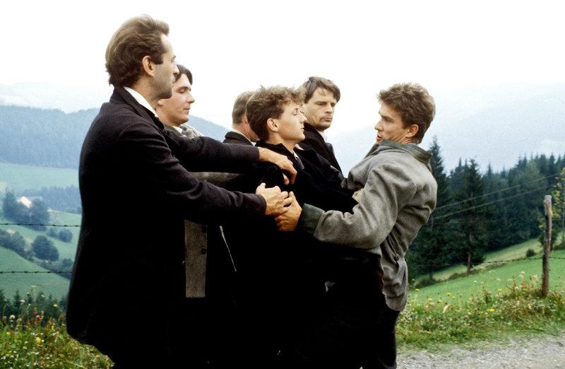 Dietrich Siegl, Christian Ruck, Harald Posch, Karl Pongratz. – Bild: ORF