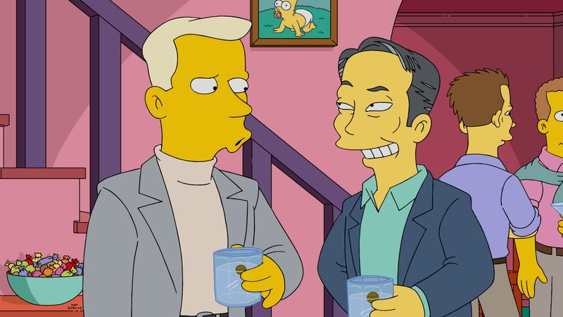 L-R: Tom Collins und George Takei – Bild: 2015 Fox and its related entities. All rights reserved. Lizenzbild frei