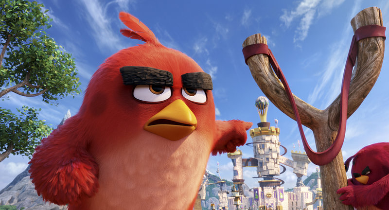 Red (Jason Sudeikis) in Columbia Pictures and Rovio Animation's ANGRY BIRDS. – Bild: TV24