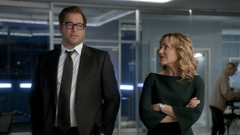 Pictured L-R: Dr. Jason Bull (Michael Weatherly), Marissa Morgan (Geneva Carr) – Bild: 2018 CBS Broadcasting, Inc. All Rights Reserved. Lizenzbild frei