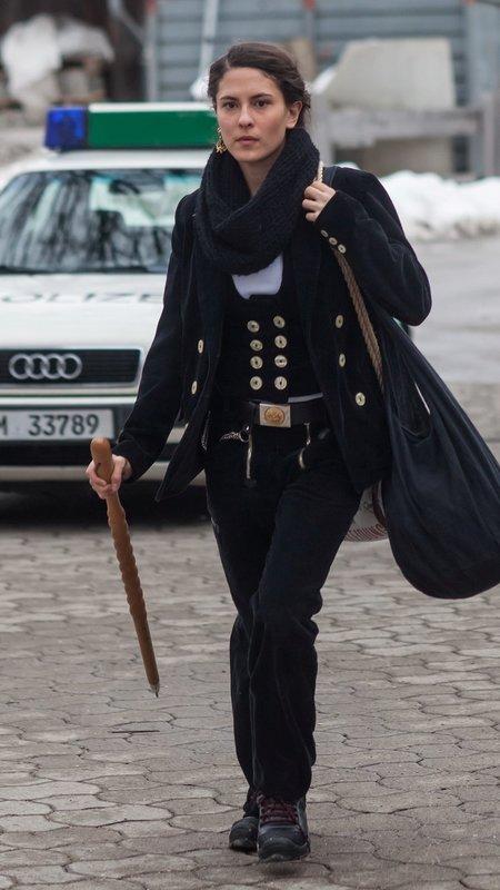 Charlotte Nägele (Amanda Da Gloria) – Bild: Die Verwendung ist nur bei redak / Tele München / © TMG und Entertainment Factory