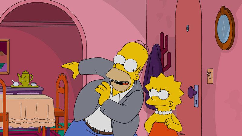 """""""Die Simpsons"""", """"Lisa on Broadway."""" Aus Übermut pokert Homer gegen die Broadway-Legende Laney Fontaine hoch und steht prompt vor einem Berg voll Schulden. Um diesen wieder loszuwerden, ist Homber gezwungen, seine Tochter Lisa für einen Monat Laney zu überlassen. Unter Laneys Obhut wächst Lisa zu einem Shootingstar am Broadway heran und genießt die ungeteilte Aufmerksamkeit in vollen Zügen. Im fernen Springfield bereuen Homer und Marge derweil, Lisa fortgeschickt zu haben und wollen sie wieder heimholen. – Bild: ORF eins"""