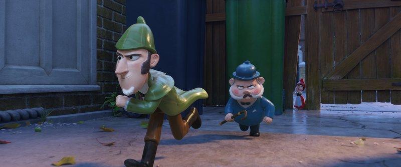 Sherlock Gnomes (l.); Dr. Watson (r.) – Bild: Sat.1