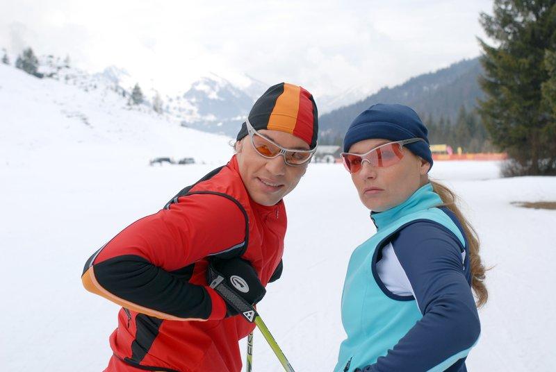 Leander Lichti (Roland Hagen), Lucia Gailovà (Silvia Hagen). – Bild: ORF 1