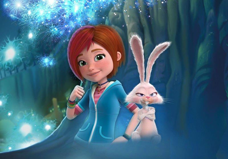 L-R: Sadie and Gilbert – Bild: Disney