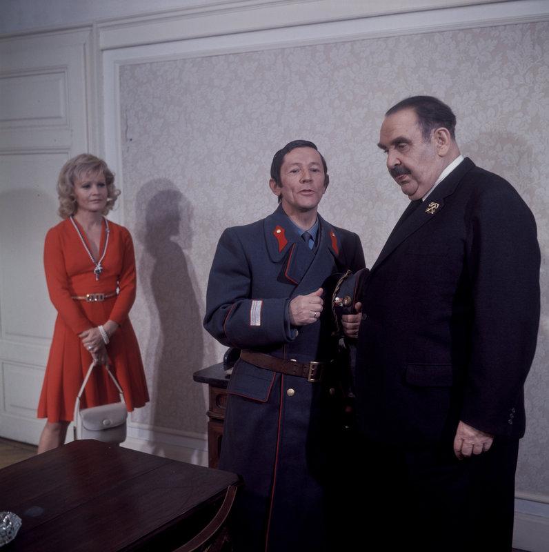 Ida Krottendorf, Sepp Trummer, Fritz Eckhardt (Oswald Huber). – Bild: ORF III
