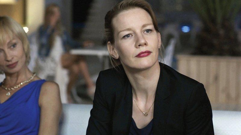 Sandra Hüller as Ines Conradi. – Bild: SWR/Patrick Orth
