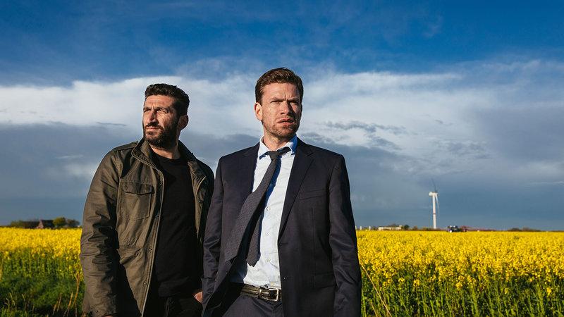 On the left Assad (Fares Fares), Carl Mørck (Nikolaj Lie Kaas) – Bild: Henrik Ohsten