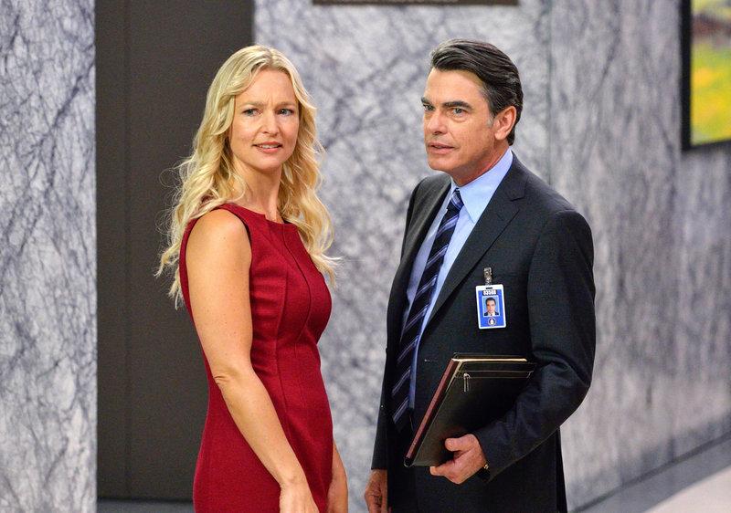 Kari Matchett (Joan Campbell), Peter Gallagher (Arthur Campbell). – Bild: ORF eins