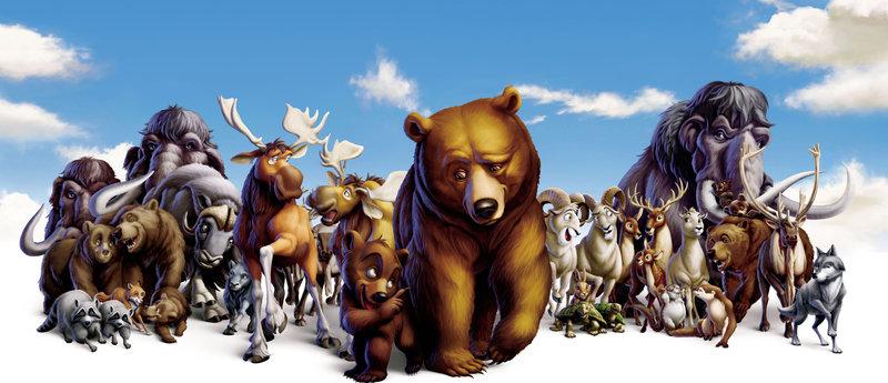 Der Indianerjunge Sitka fällt einem Bären auf tragische Weise zum Opfer. Sein jüngster Bruder Kenai schwört Rache. Auf wundersame Weise verwandelt er sich jedoch selbst in einen Bären. Auf vier Tatzen sieht die Welt für ihn plötzlich ganz anders aus. Seine einzige Chance ist es, sich mit seinem Erzfeind dem Grizzly Koda anzufreunden. Dieser kümmert sich tatsächlich um ihn und führt Kenai in die Regeln der Wildnis ein. Da eröffnet Kenais echter Bruder Denahi die Jagd auf die Bären. – Bild: ORF/Disney